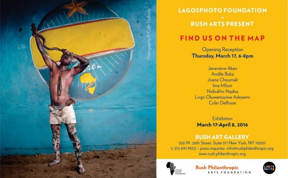 LagosPhoto Foundation and Rush Art Gallery present Find Us on The Map Image