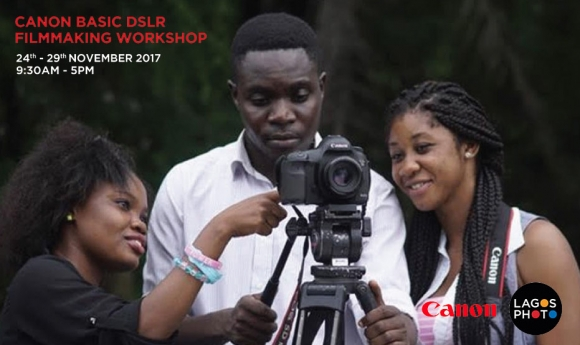 Canon Basic DSLR Film Making Workshop Image