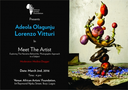 Meet the Artist with Lorenzo Viturri and Adeola Olagunju Image