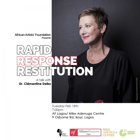Rapid Response Restitution. A talk with Clementine Deliss Image