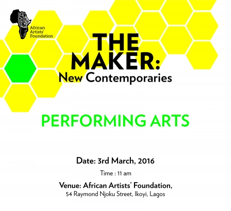 The Maker: New Contemporaries (Performing Arts) Image