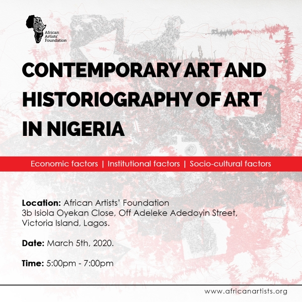 Contemporary Art and Historiography of Art in Nigeria Image