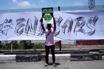 #END SARS PROTESTS Image